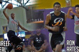 Vidéo: les fils de Shaquille O'Neal et Ron Artest s'affrontent au Ron Massey Classic