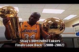 Vidéo: Shaquille O'Neal's Epic Lakers Championship Look Back!