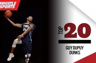 Vidéo: un Top 20 des meilleurs dunks de Guy Dupuy