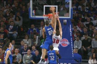 Claquette dunk: Aaron Gordon escalade Aron Baynes et Jon Leuer