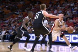 Goran Dragic enrhume la défense des Nets en un spin move