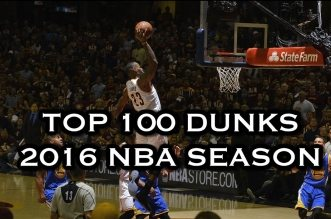 Le Top 100 Dunks de la saison 2015-16