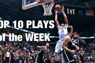 Les 10 actions de la première semaine NBA