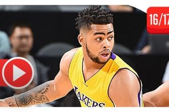 Les highlights de D'Angelo Russell (31 pts, 11 passes) contre les Kings