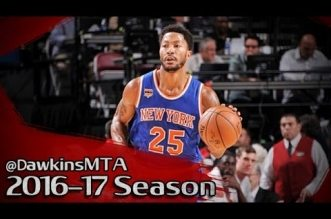 Les highlights de la première de Derrick Rose avec les Knicks: 16 points et 5 passes