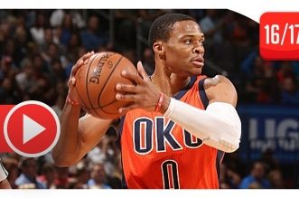 Les highlights de Russell Westbrook contre les Lakers