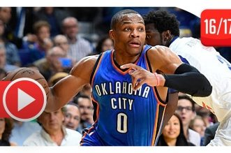 Les highlights de Russell Westbrook, Victor Oladipo et Enes Kanter face au Real Madrid