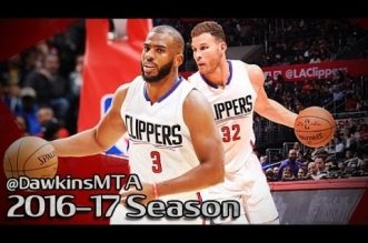 Les highlights des duos Blake Griffin (26 pts) – Chris Paul (10 pts, 10 pds) & Damian Lillard (19 pts) – C.J. McCollum (20 pts)
