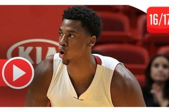 Les highlights d'Hassan Whiteside (21 pts, 14 rebs, 4 contres) face aux Nets