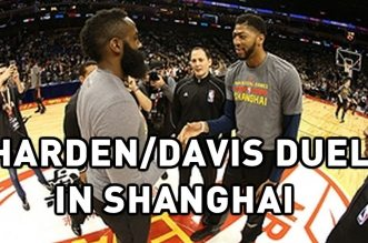 Les highlights du duel James Harden (26 pts, 15 asts) – Anthony Davis (23 pts)