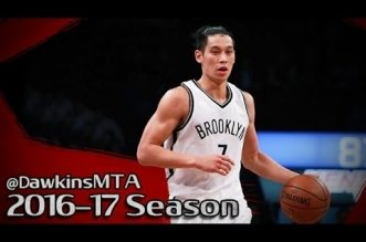 Les highlights du duel Jeremy Lin (24 pts, 10 asts) – Carmelo Anthony (21 pts)