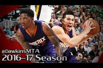 Les highlights du duo Devin Booker (20 pts) – Eric Bledsoe (16 pts)