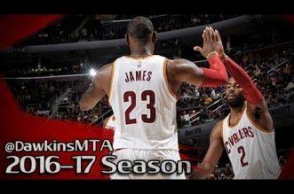 Les highlights du duo LeBron James – Kyrie Irving (30 pts combiné) et de Jordan McRae (20 pts)