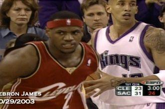 Les premiers dunks en carrière des stars NBA (Michael Jordan, Kobe Bryant, Vnice Carter, LeBron James…)