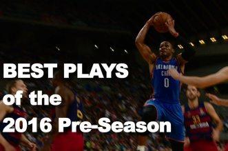 Mix: les meilleures actions de la pré-saison