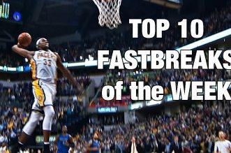 Top 10 des contre-attaques de la semaine: Le dragster LeBron James; Sefolosha avec style