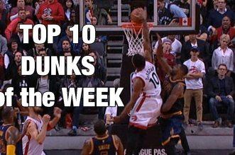Top 10 dunks de la semaine: Vous pendriez bien un peu de posters