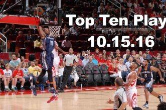 Top 10 NBA: Green, McGee, le Greek Freak et Porzingis et à l'honneur; Troy Williams N°1