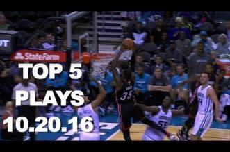 Top 5 NBA: Doublé pour Courntey Lee; Michael Carter-Williams numéro 1