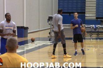 Vidéo : Kevin Durant bosse ses moves au poste avec Steve Nash