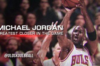 Vintage: Tous les shoots au buzzer pour la gagne réussis par Michael Jordan en carrière
