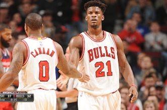 Avec un Jimmy Butler à 2 points de son record en saison, les Bulls disposent de l'équipe B des Wizards