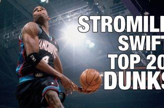 Bon anniversaire: l'énorme Top 20 dunks en carrière de Stromile Swift