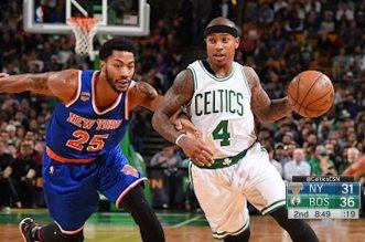Boston se venge sur des Knicks qui s'énervent
