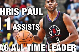 Chris Paul devient le meilleur passeur de l'histoire des Clippers