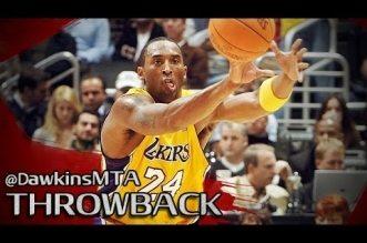 Il y a 10 ans Kobe Bryant prenait feu face au Jazz: 52 points en 3 quarts