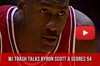 Il y a 24 ans Michael Jordan scorait 54 points face aux Lakers