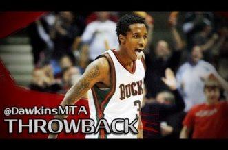 Il y a 7 ans Brandon Jennings plantait 55 points lors de son 7ème match en NBA !
