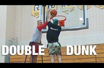 Jordan Kilganon passe encore un dunk inédit !