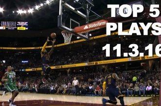 Le superbe Top 5 NBA:Plus vite, plus haut, plusfort !
