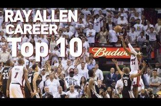 Le Top 10 en carrière de Ray Allen