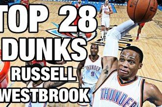 Les 28 meilleurs dunks en carrière de Russell Westbrook