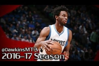 Les highlights d'Andrew Wiggins (35 pts) et du duel Karl-Anthony Towns – Joel Embiid