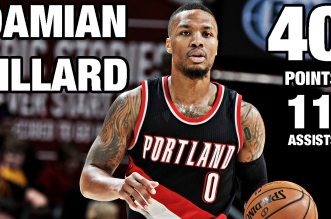 Les highlights de Damian Lillard (40 pts, 11 asts) et Russell Westbrook (31 pts, 9 asts, 1 rbds)