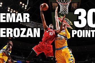 Les highlights de DeMar DeRozan face aux Nuggets: 30 points