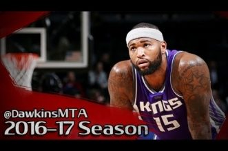 Les highlights de DeMarcus Cousins (37 pts à 4/5 à 3-pts, 11 rebs) face aux Nets