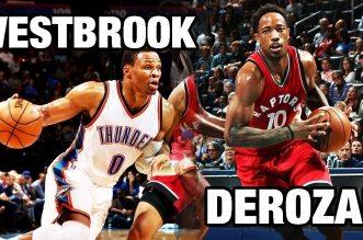 Les highlights de l'énorme duel DeMar DeRozan (37 pts) – Russell Westbrook (36 pts)