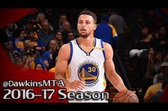 Les highlights de Stephen Curry (25 points), Kevin Durant (25 points) et Klay Thompson (20 points) face aux Hawks