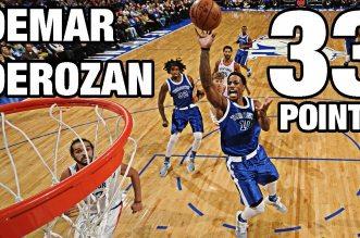 les highlights du duel DeMar «Intenable» DeRozan (33 pts)- Carmelo Anthony (31 points)