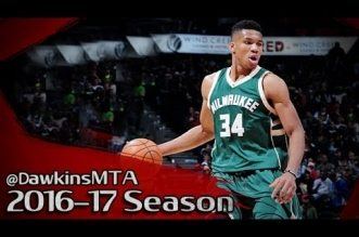 Les highlights du duo Jabari Parker (23 pts) – Giannis Antetokounmpo (26 pts, 15 rbds, 7 asts)