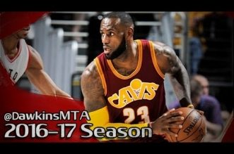 Les highlights du duo LeBron James (28 pts, 14 asts) – Kyrie Irving (24 pts)