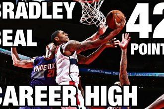 Les highlights du record en carrière de Bradley Beal: 42 points