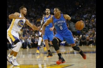 L'incroyable circus shot de Russell Westbrook