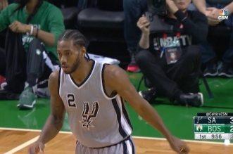Mal partis à Boston, les Spurs se reprennent et restent invaincus à l'extérieur