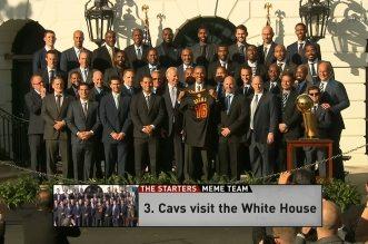 Meme Team des Starters: Brack Obama fait une dernière fois le show; Le Wag de Russell Westbrook