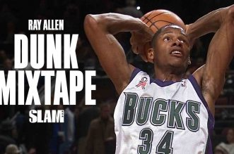Ray Allen Career Dunk Mixtape